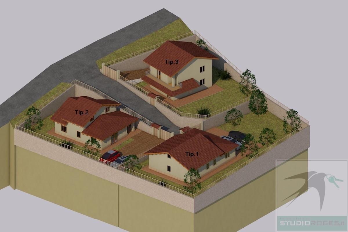 Villa in Vendita 120,00 mq - N. camere: 3 - - Rende - Rocchi-S.Stefano-Arcavacata (CS)